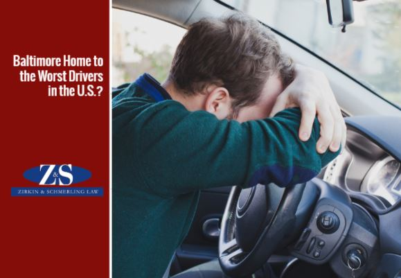 Baltimore Home to the Worst Drivers in the U.S.?