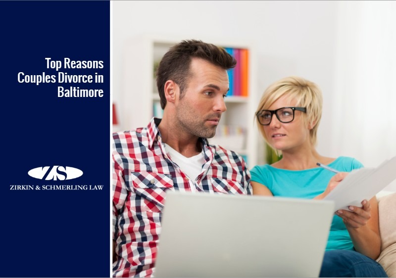 Top Reasons Couples Divorce in Baltimore