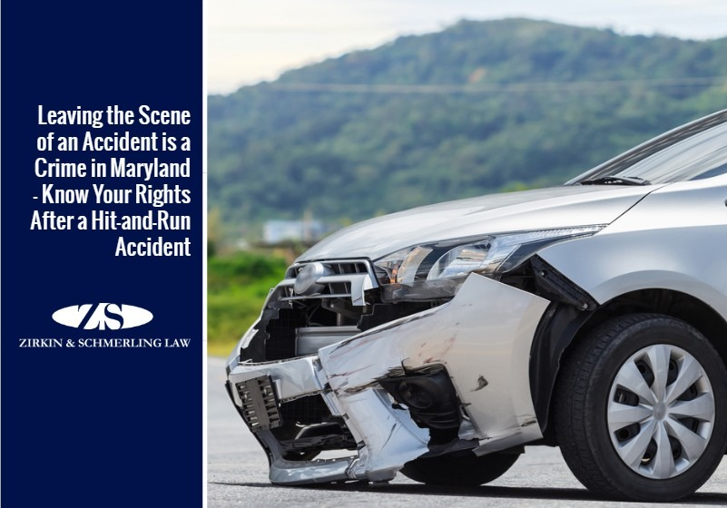 Leaving the Scene of an Accident is a Crime in Maryland – Know Your Rights After a Hit-and-Run Accident