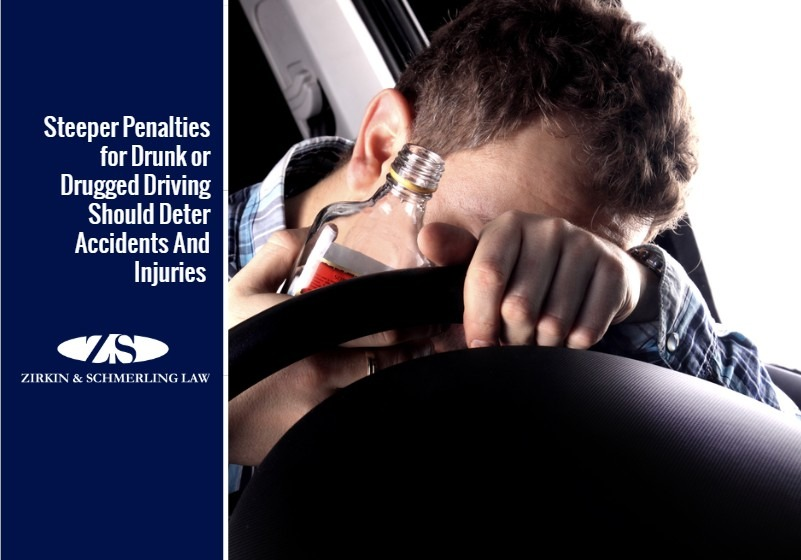 Steeper Penalties for Drunk or Drugged Driving Should Deter Accidents And Injuries