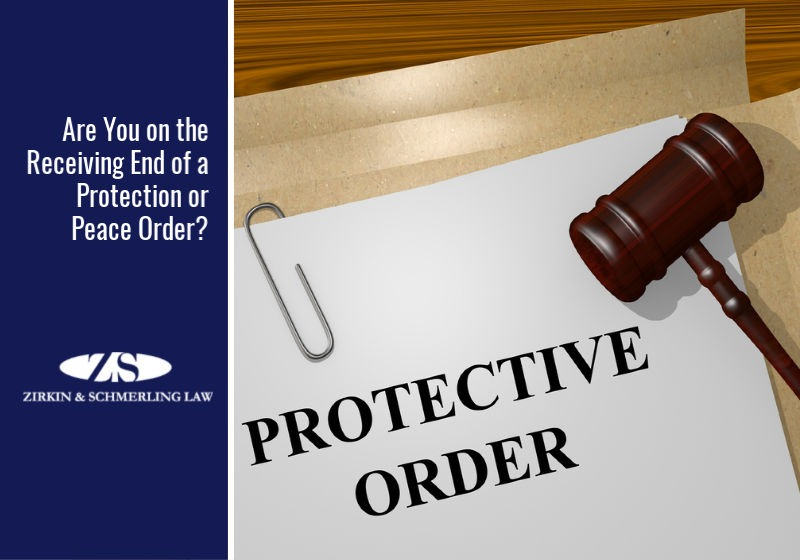 Are You on the Receiving End of a Protection or Peace Order?