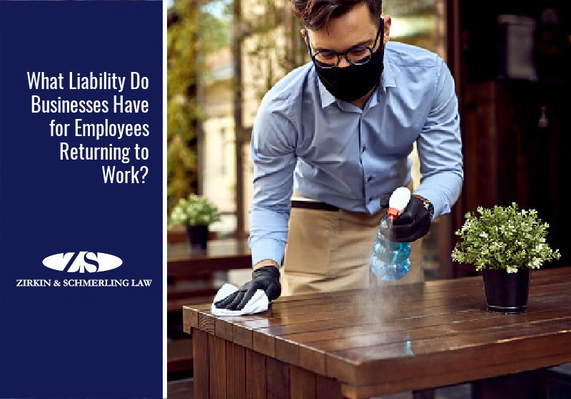 What Liability Do Businesses Have for Employees Returning to Work?