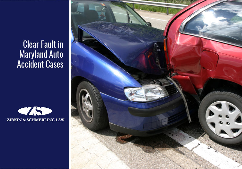 Clear Fault in Maryland Auto Accident Cases