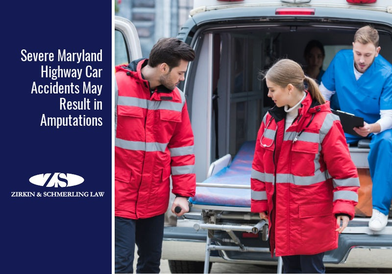 Severe Maryland Highway Car Accidents May Result in Amputations