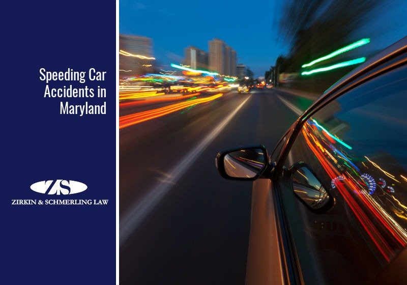 Speeding Car Accidents in Maryland