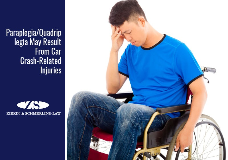 left paraplegic after an accident