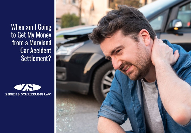 When am I Going to Get My Money from a Maryland Car Accident Settlement?