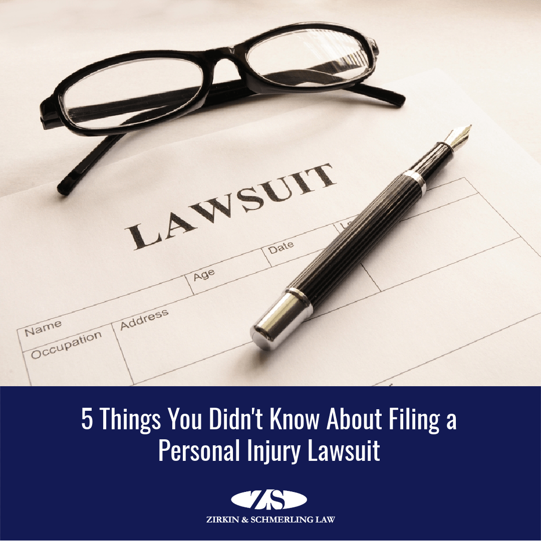 5 Things You Didn't Know About Filing a Personal Injury Lawsuit