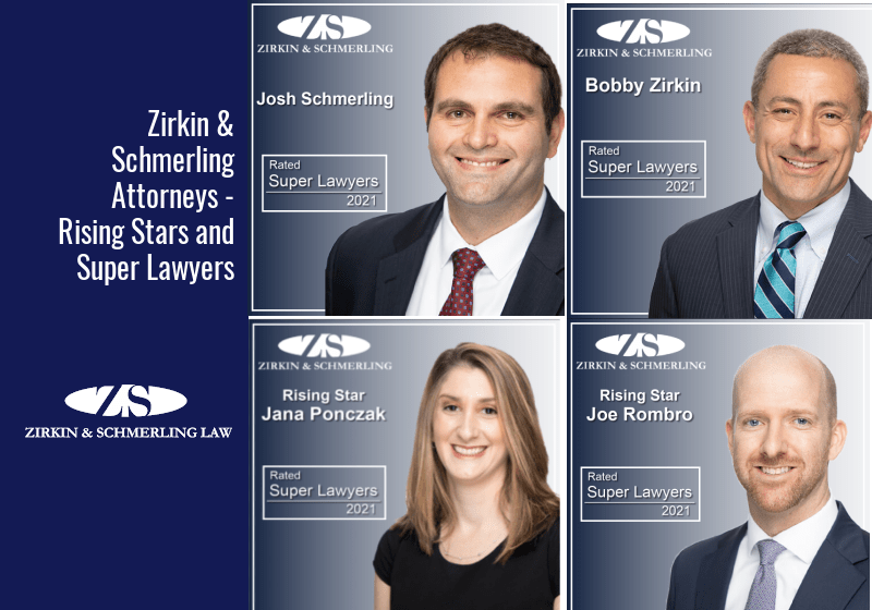 Zirkin & Schmerling Attorneys – Rising Stars and Super Lawyers