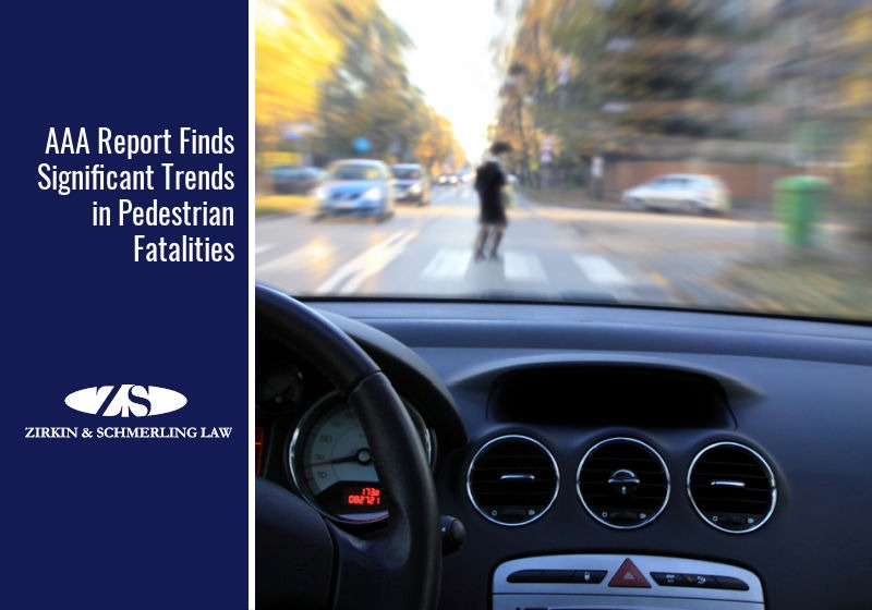 AAA Report Finds Significant Trends in Pedestrian Fatalities