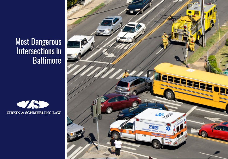 Most Dangerous Intersections in Baltimore