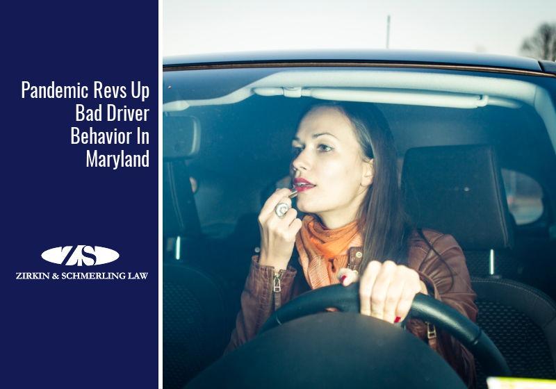 Pandemic Revs Up Bad Driver Behavior In Maryland